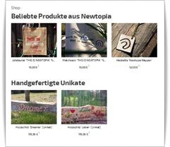 online shop pioniere newtopia