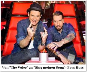 Boss Hoss nehmen an Sing meinen Song teil