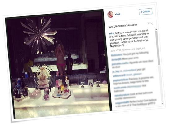 christina aguilera nackt xtina instagram nude